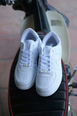 giày nike air force full white 4