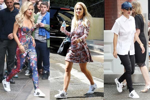 Phối đồ với giày Adidas superstar 4