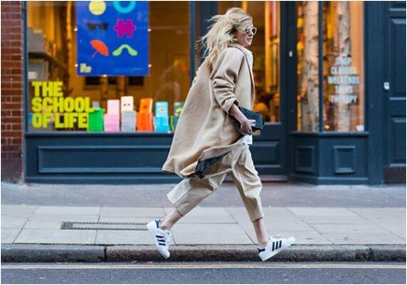 Phối đồ với giày Adidas superstar 11