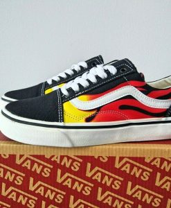 giày vans old skool fire