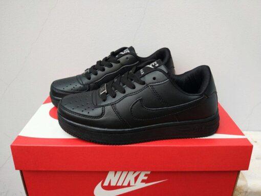 giày nike air force 1 black