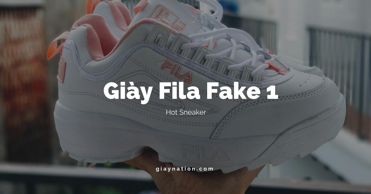 bene salvare grande sconto Đánh giá giày Fila trắng Fake làm tan chảy mọi bạn gái | Giày Nation