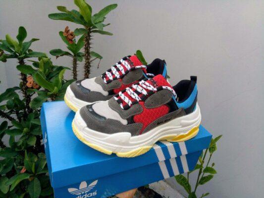 giày balenciaga triple s đỏ 1