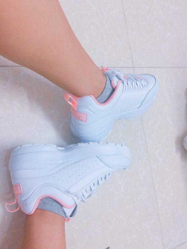 giày fila trắng fake 1 feedback 2