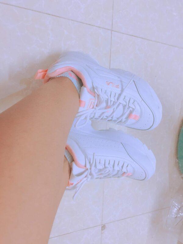 giày fila trắng fake 1 feedback 3