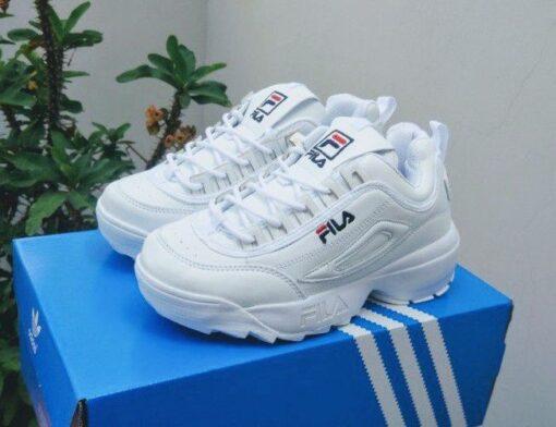 giày fila trắng full 1