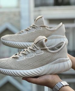Giày Tubular Doom sock cream