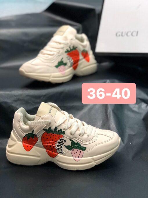 Giày Gucci nữ dâu -1