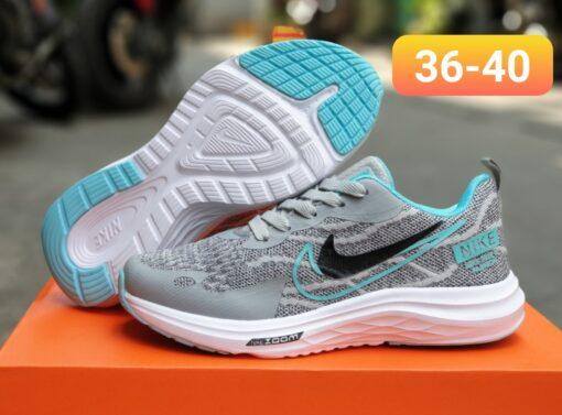Giày thể thao nữ Nike Zoom F30 xám xanh