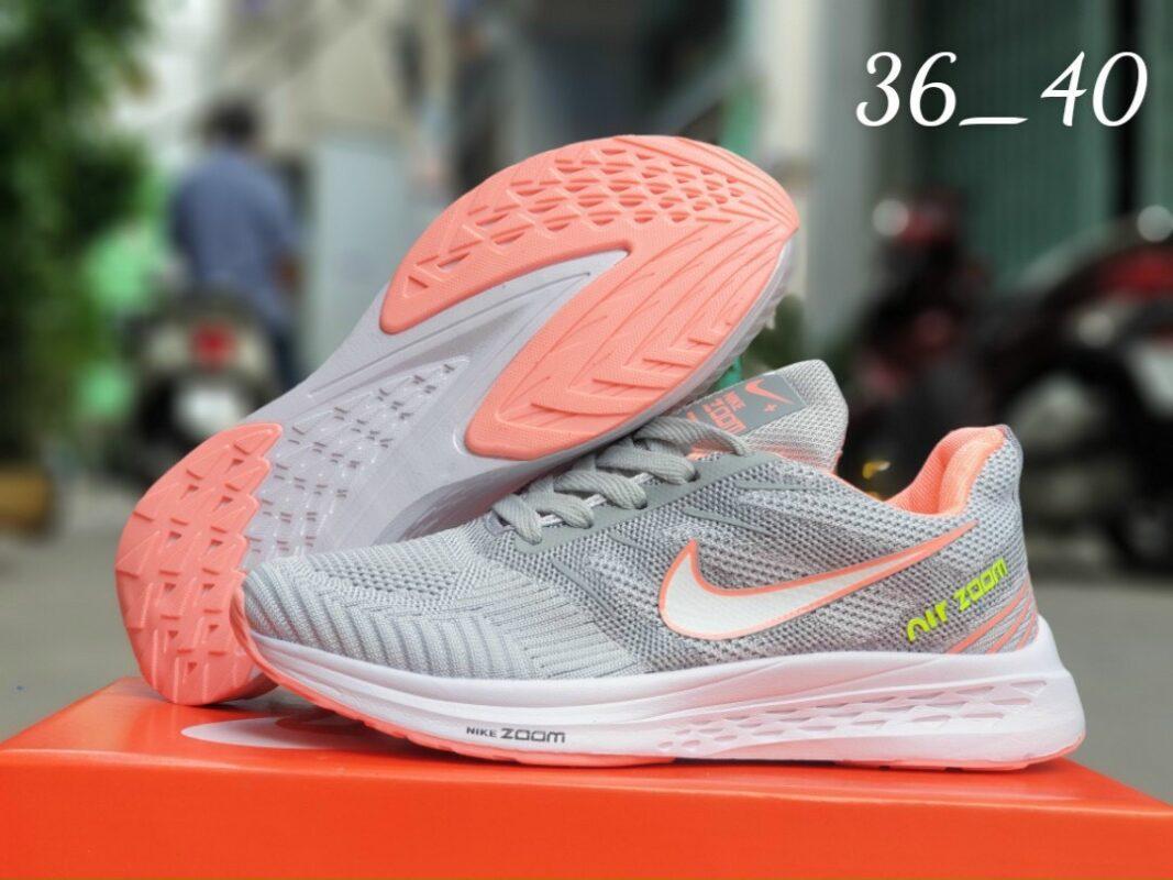 Giày Nike Nữ F32 màu xám cam