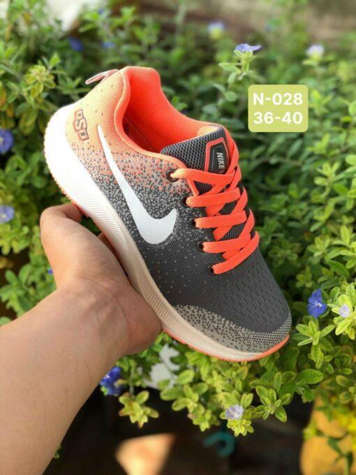 Giày Nike Nữ N028 màu xám cam