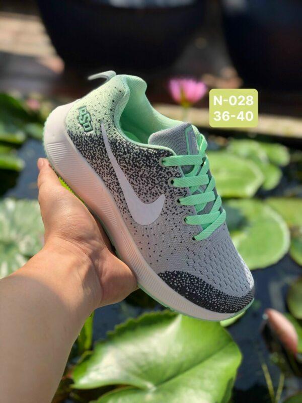 Giày Nike Nữ N028 màu xám xanh