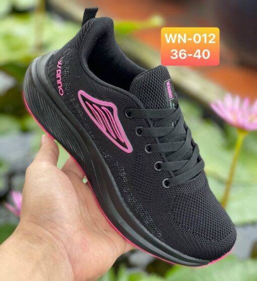 Giày Nike Nữ WN012 màu đen hồng