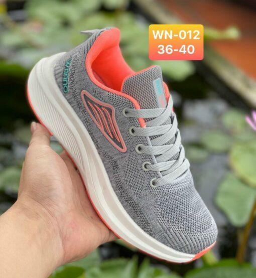 Giày Nike Nữ WN012 màu xám cam
