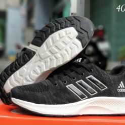 Giày Adidas Nam V34 đen trắng